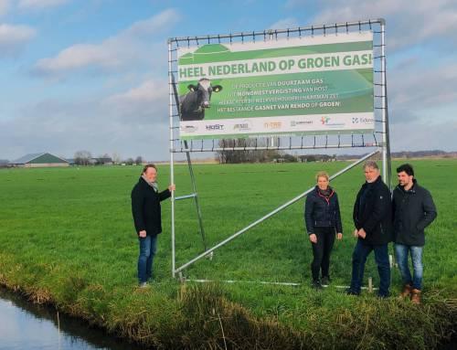 Heel Nederland op groen gas